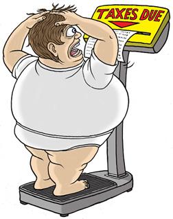 No FAT TAX = an IRA Contribution